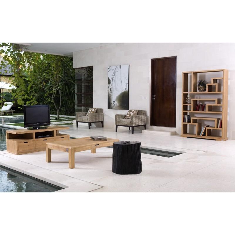 meuble tv en teck city pas cher origin 39 s meubles. Black Bedroom Furniture Sets. Home Design Ideas