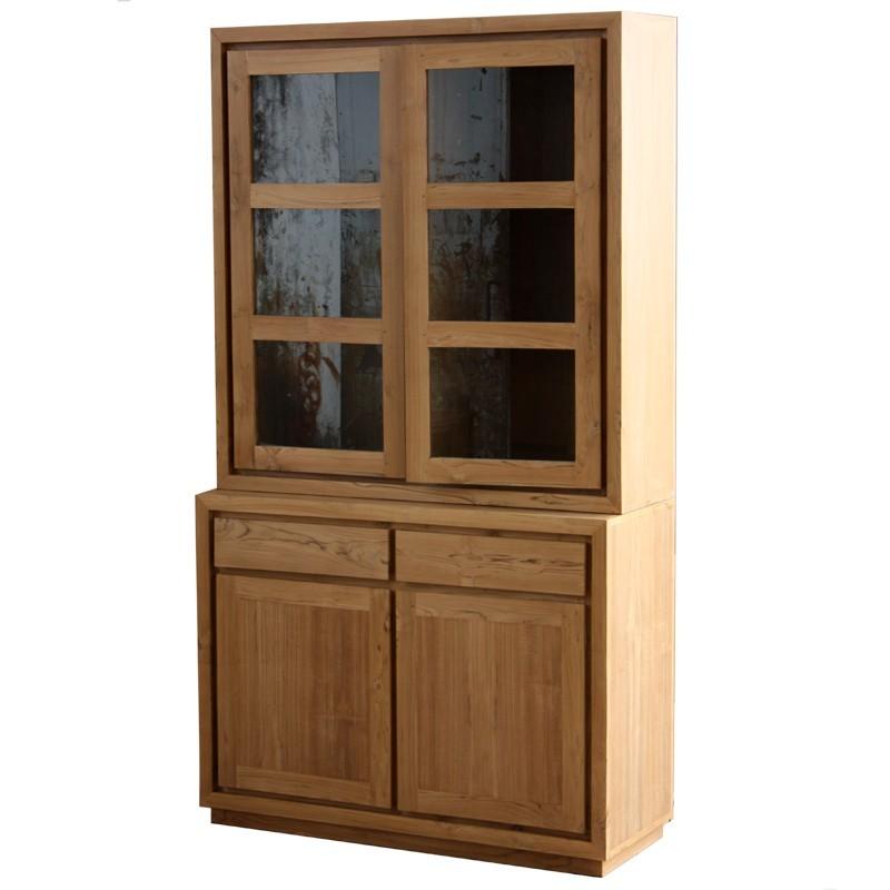buffet vaisselier contemporain maison design. Black Bedroom Furniture Sets. Home Design Ideas