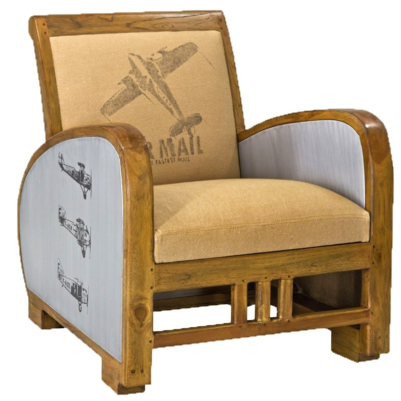 Fauteuil Petit Modèle JACKET - Petit fauteuil club