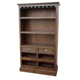 etagere porte bouteille en teck origin 39 s meubles. Black Bedroom Furniture Sets. Home Design Ideas