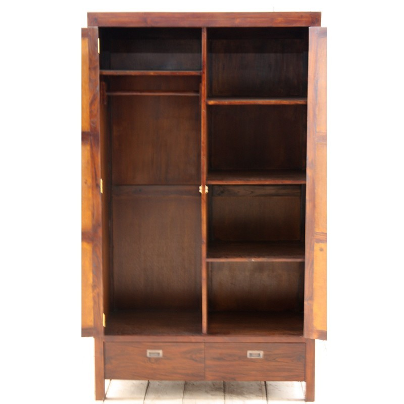 superbe armoire teck et bambou en vente chez origin 39 s meubles. Black Bedroom Furniture Sets. Home Design Ideas