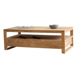 Table basse teck Grenweech