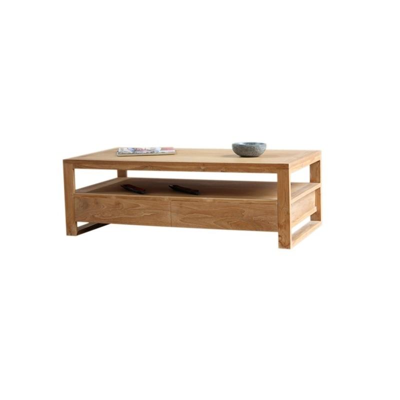 table basse goa en teck. Black Bedroom Furniture Sets. Home Design Ideas