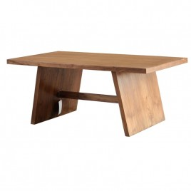 Table Basse Fiftees en teck