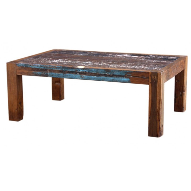 Table Basse Bois Bateau Recycle – Phaichicom ~ Customiser Table Basse En Bois