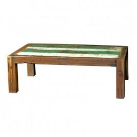 N°1 Table Basse bois de bateau recycle