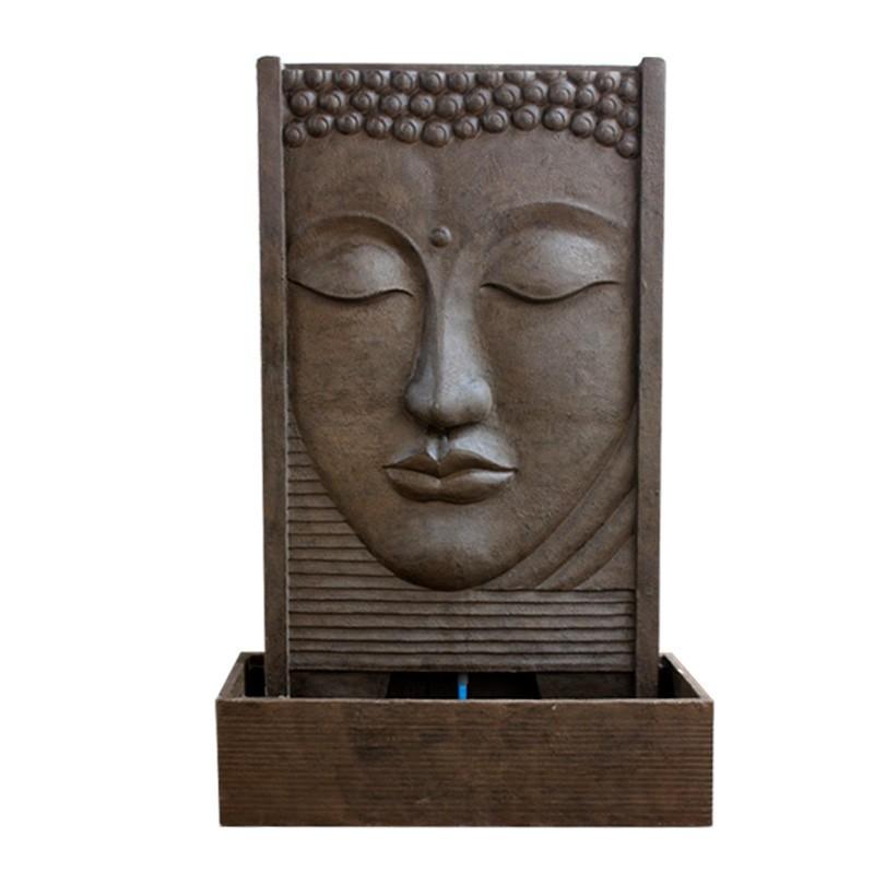 Superbe fontaine mur d 39 eau face de bouddha pas ch re for Tete de bouddha deco