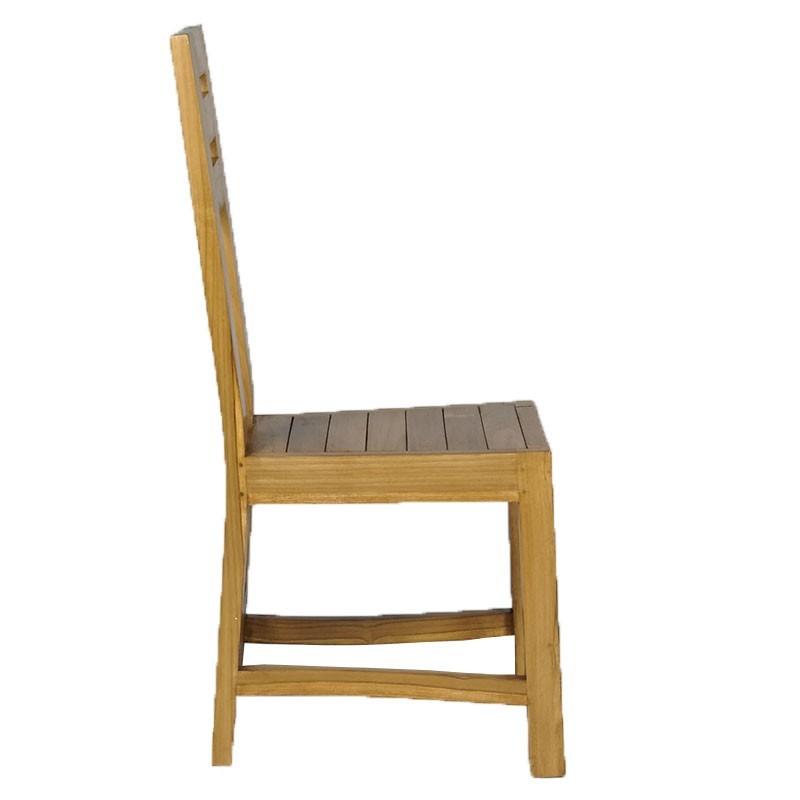chaise en teck vidaxl chaise en teck pcs chaise de jardin. Black Bedroom Furniture Sets. Home Design Ideas
