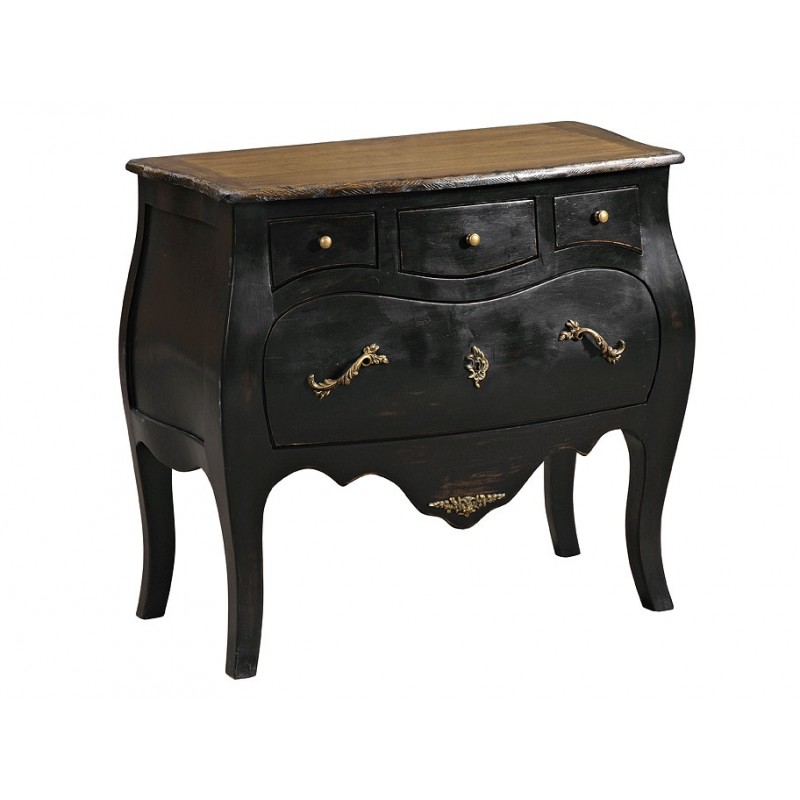 commode 4 tiroirs dubarry en teck pas cher en vente chez origin 39 s meubles. Black Bedroom Furniture Sets. Home Design Ideas