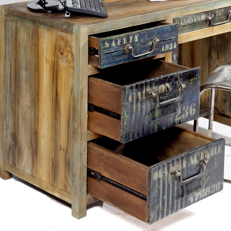 bureau 3 tiroirs osiris pas cher en vente chez origin 39 s meubles. Black Bedroom Furniture Sets. Home Design Ideas