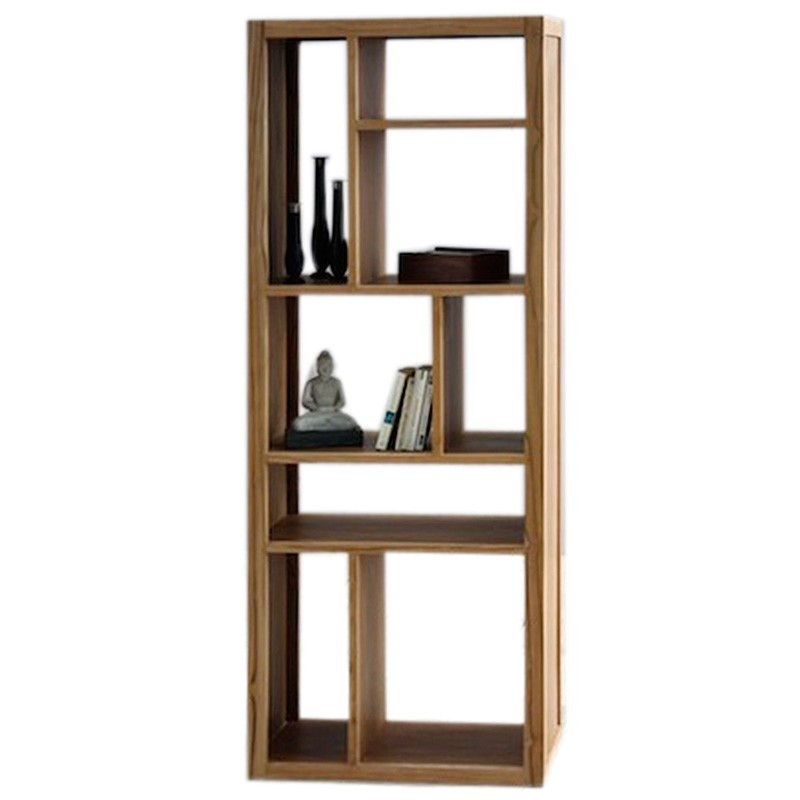 biblioth que d structur e en teck origin 39 s meubles. Black Bedroom Furniture Sets. Home Design Ideas