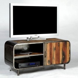 Meuble TV 120 industriel VINTAGE