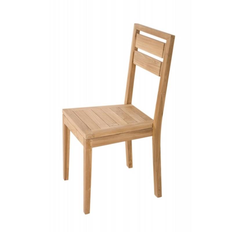 chaise en teck brut origin 39 s meubles. Black Bedroom Furniture Sets. Home Design Ideas