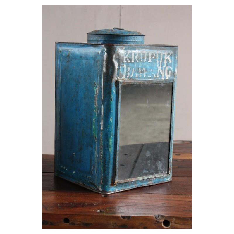boite en fer vintage d co chez origin 39 s meubles