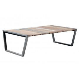 Photo générique table basse rectangulaire indus