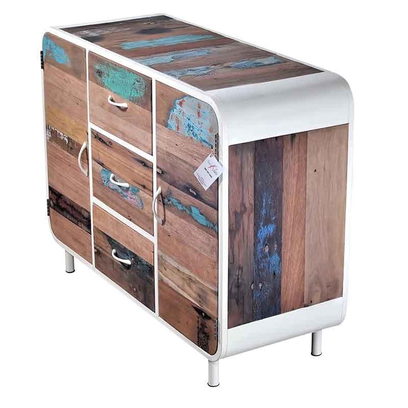 buffet industriel pas cher maison design. Black Bedroom Furniture Sets. Home Design Ideas