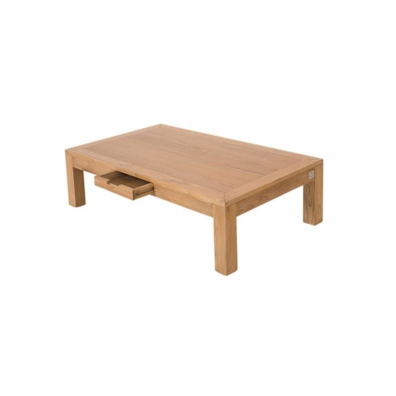Table basse city en teck pas cher en vente chez origin 39 s for Table basse en teck