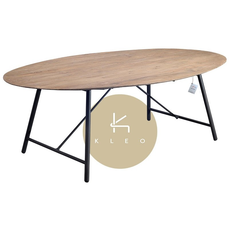 N° 1.2 A59 - Table repas ovale Louvre 220