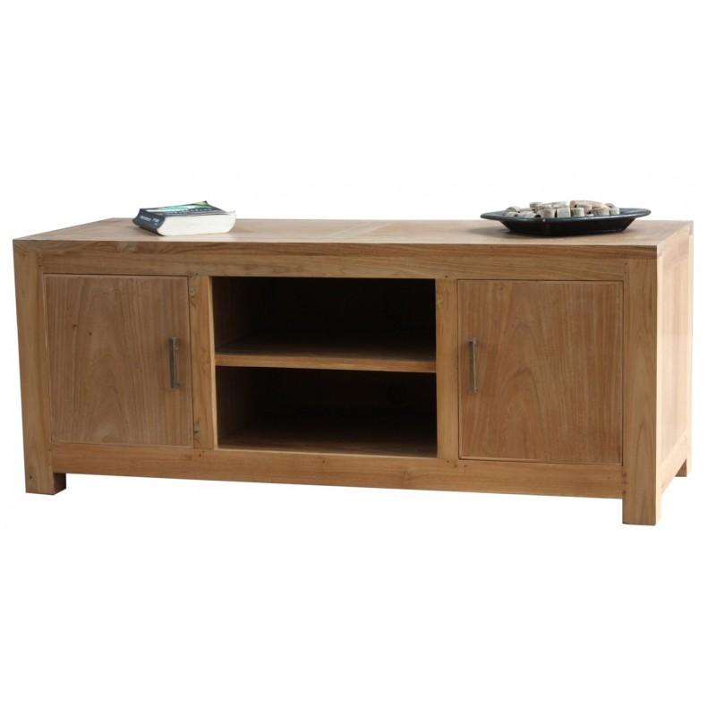 Meuble tv en teck origin 39 s meubles - Meuble tv teck belgique ...