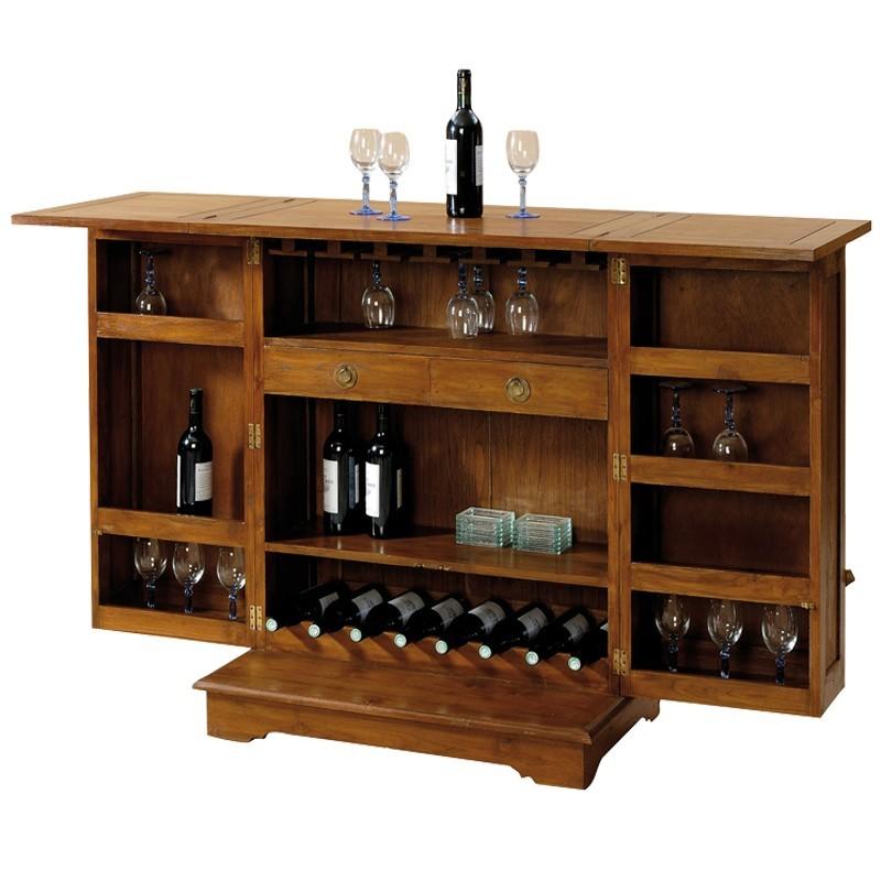 Meuble Bar CINA En Teck. Livraison Gratuite