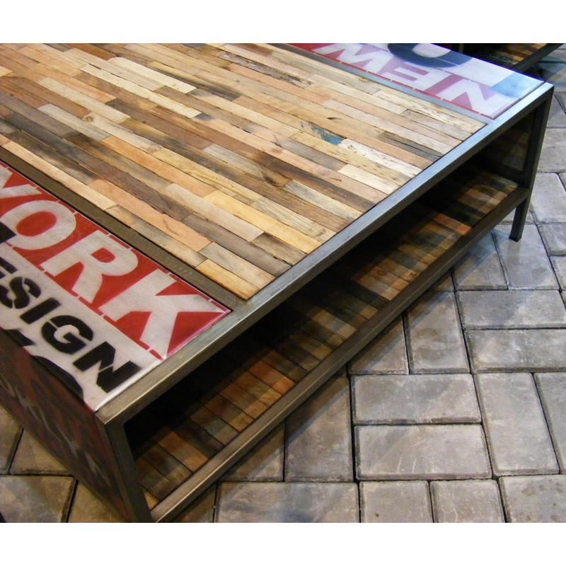 Table basse loft d co new york chez origin 39 s meubles - Table basse new york ...