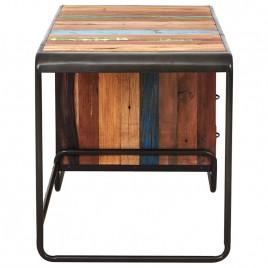 bureau Sixties 3 tiroirs 125 cm