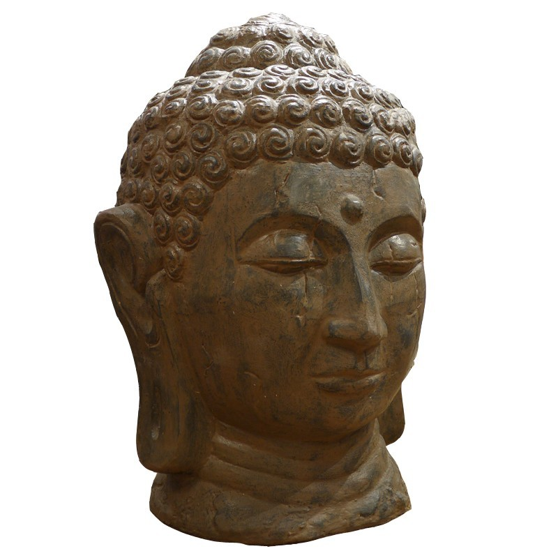 Tête de Bouddha resine 100