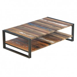 Table basse Industrielle 120 cm EDITO