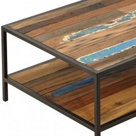 Table basse style industriel DOCKER 110