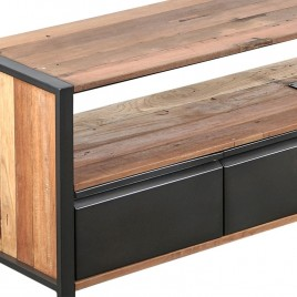 N°1.5AK23 - Meuble TV industriel 4 tiroirs Newport 180 cm