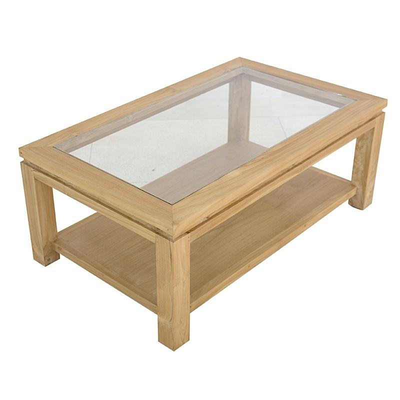 table basse moderne en teck massif en vente chez origin 39 s meubles. Black Bedroom Furniture Sets. Home Design Ideas