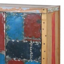 N°2.2SI07 - Buffet industriel LOFT 4 portes 3 tiroirs 200 cm