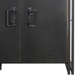 Buffet industriel 2 portes 120 cm Edito