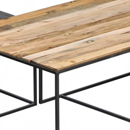 1.5AK33 - Table basse rect. CONTEMPORAIN 130 cm