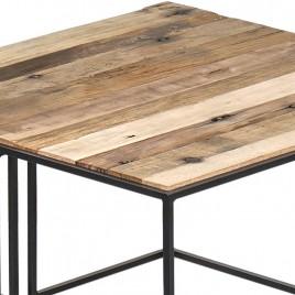 1.5AK33 - Table basse carrée CONTEMPORAIN 75 cm