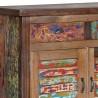 4.4SI08 - buffet bois recyclé coloré 180