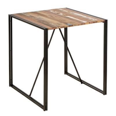 Mange debout Edito fer et planche de bois de bateau 100 cm