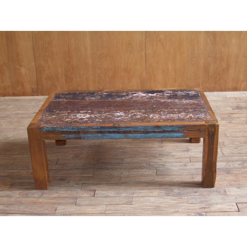 Simple table with origins meuble - Meuble bois recycle pas cher ...