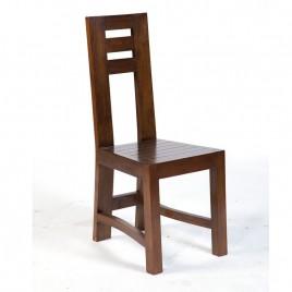 Chaise teck massif finition Antik