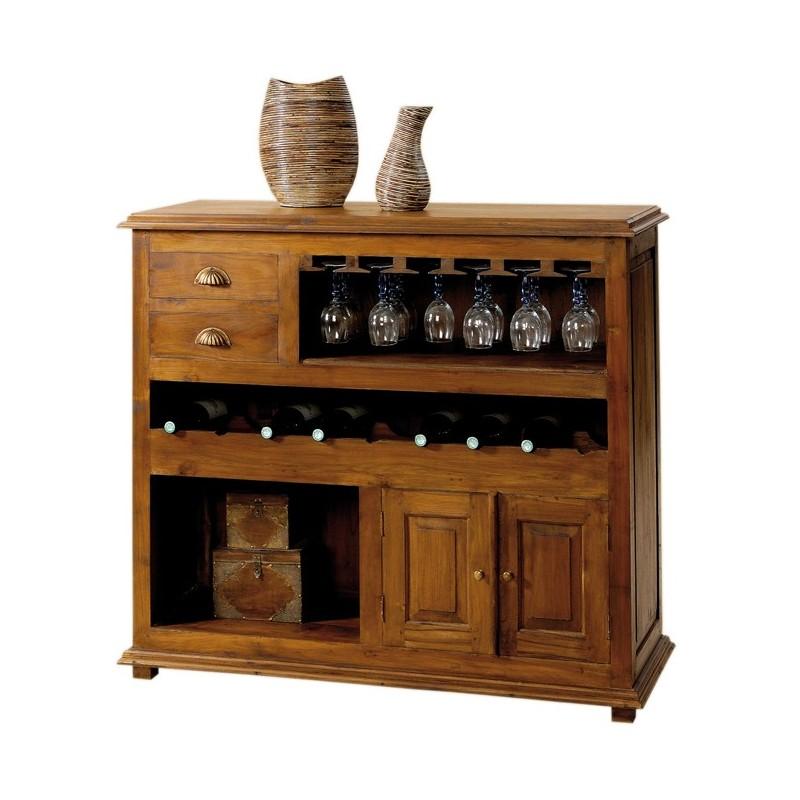Comptoir bar en teck pas cher origin 39 s meubles - Comptoir des indes meubles ...