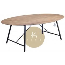 Table repas ovale en teck Louvre 220