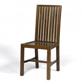 Chaise en teck teinté